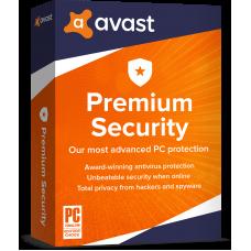 Avast Premium Security 2020 1 PC 1 Year