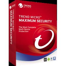 Trend Micro Maximum Security 2020 3 PC 1 Year